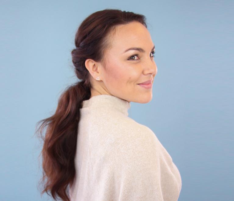 DOE HET ZELF: triple twisted ponytail